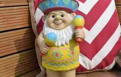 60cm Large Mexican Themed Garden Gnome
