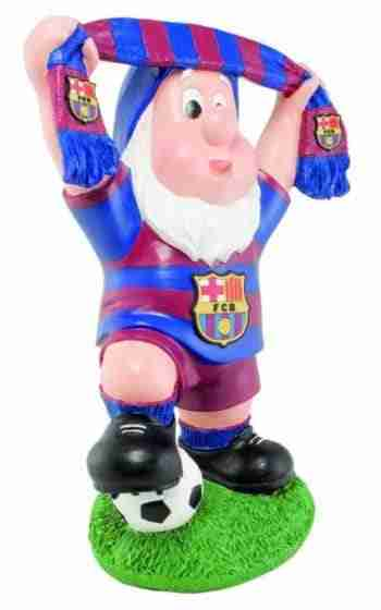 FC Barcelona Official Product Garden Gnome SCARF