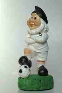 Leeds United TALKING Football Gnome