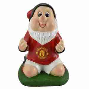 Man U Celebration Football Garden Gnome