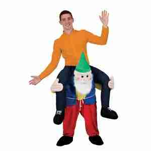 Carry Me Gnome - Adult Garden Gnome Fancy Dress Costume