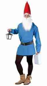 mens blue gnome outfit