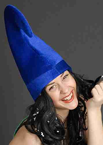 Blue Garden Gnome Hat