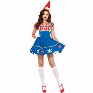 Garden gnome costume ideas for women