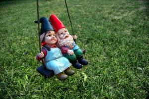 Garden gnome couples