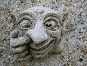 Rude Garden Gnome Goblin Bogies 2