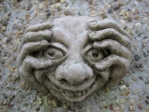 Rude Garden Gnome Goblin Bogies 3
