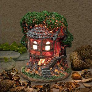 fairy tree houses garden
